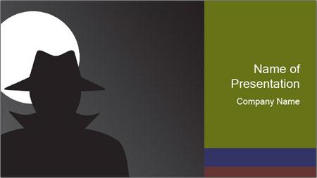 Spy PowerPoint Template