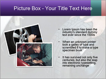 Mechanic changing a wheel PowerPoint Templates - Slide 20