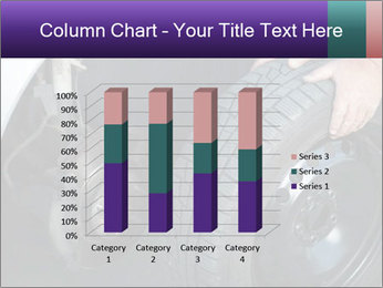 Mechanic changing a wheel PowerPoint Templates - Slide 50