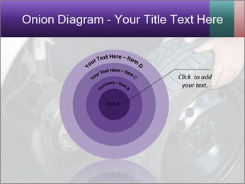 Mechanic changing a wheel PowerPoint Templates - Slide 61