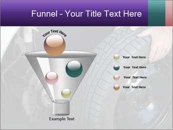 Mechanic changing a wheel PowerPoint Templates - Slide 63