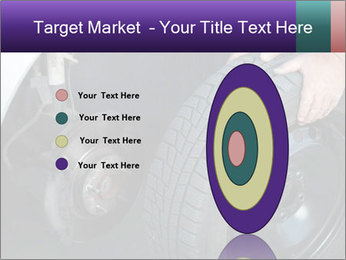 Mechanic changing a wheel PowerPoint Templates - Slide 84