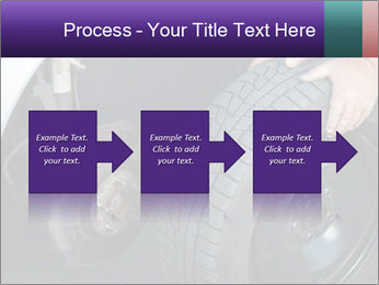 Mechanic changing a wheel PowerPoint Templates - Slide 88
