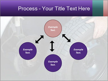 Mechanic changing a wheel PowerPoint Templates - Slide 91
