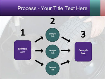 Mechanic changing a wheel PowerPoint Templates - Slide 92