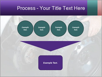 Mechanic changing a wheel PowerPoint Templates - Slide 93