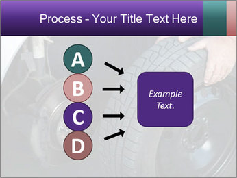 Mechanic changing a wheel PowerPoint Templates - Slide 94