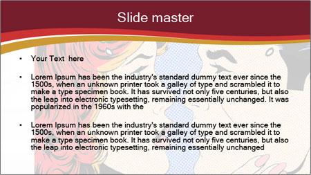 Comic pop art PowerPoint Template - Slide 2