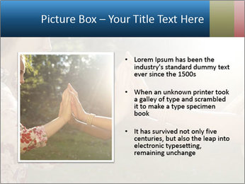 Teenage girl PowerPoint Template - Slide 13