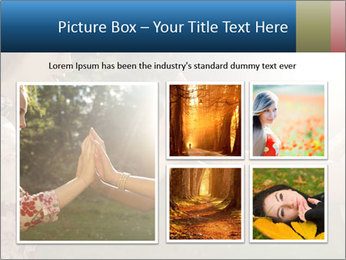 Teenage girl PowerPoint Template - Slide 19