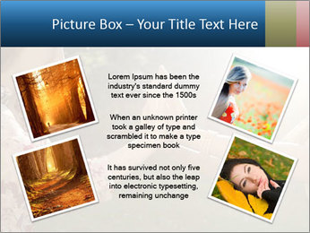 Teenage girl PowerPoint Template - Slide 24