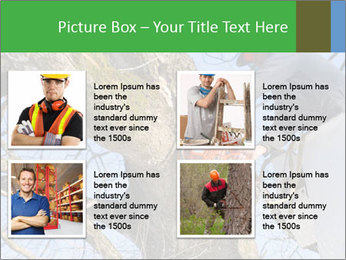 A tree surgeon cuts PowerPoint Templates - Slide 14
