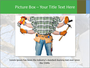 A tree surgeon cuts PowerPoint Templates - Slide 15