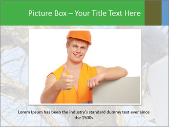 A tree surgeon cuts PowerPoint Templates - Slide 16