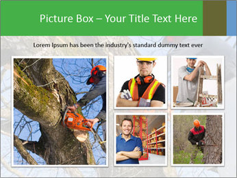 A tree surgeon cuts PowerPoint Templates - Slide 19