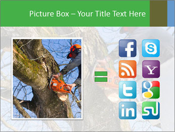 A tree surgeon cuts PowerPoint Templates - Slide 21
