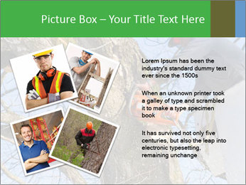 A tree surgeon cuts PowerPoint Templates - Slide 23