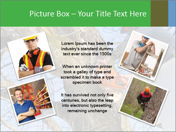 A tree surgeon cuts PowerPoint Templates - Slide 24