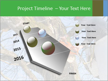 A tree surgeon cuts PowerPoint Templates - Slide 26