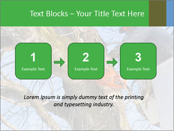 A tree surgeon cuts PowerPoint Templates - Slide 71