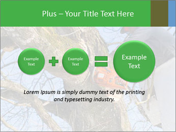 A tree surgeon cuts PowerPoint Templates - Slide 75