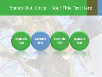 A tree surgeon cuts PowerPoint Templates - Slide 76