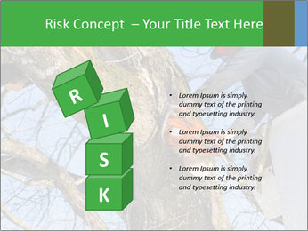 A tree surgeon cuts PowerPoint Templates - Slide 81