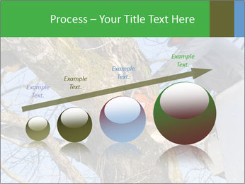 A tree surgeon cuts PowerPoint Templates - Slide 87