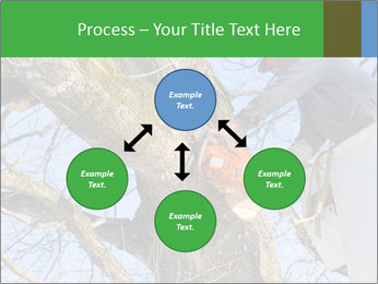 A tree surgeon cuts PowerPoint Templates - Slide 91