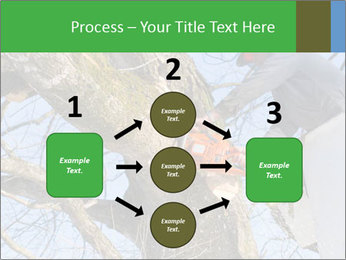 A tree surgeon cuts PowerPoint Templates - Slide 92
