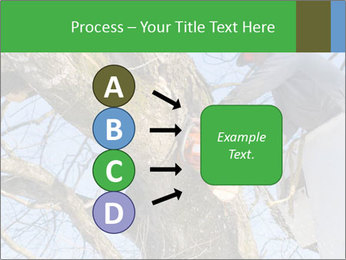 A tree surgeon cuts PowerPoint Templates - Slide 94