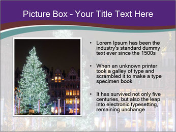 Christmas tree PowerPoint Template - Slide 13