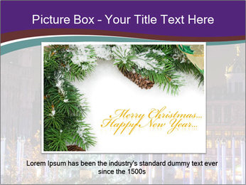 Christmas tree PowerPoint Template - Slide 15