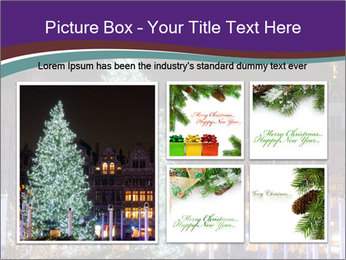 Christmas tree PowerPoint Template - Slide 19