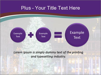 Christmas tree PowerPoint Template - Slide 75
