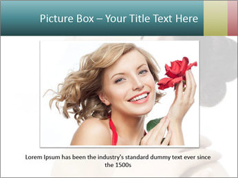 Attractive asian woman PowerPoint Template - Slide 15