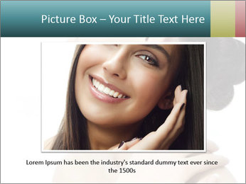 Attractive asian woman PowerPoint Template - Slide 16