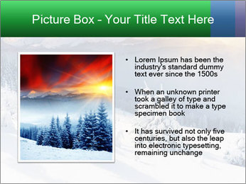 Majestic sunset PowerPoint Template - Slide 13