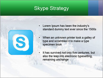 Majestic sunset PowerPoint Template - Slide 8