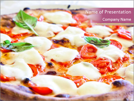True Italian Pizza PowerPoint Template
