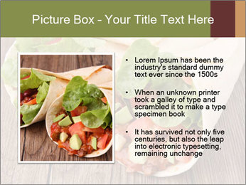 Burrito PowerPoint Template - Slide 13
