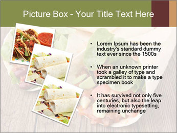 Burrito PowerPoint Template - Slide 17