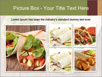 Burrito PowerPoint Template - Slide 19