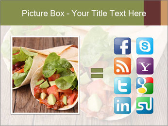 Burrito PowerPoint Template - Slide 21