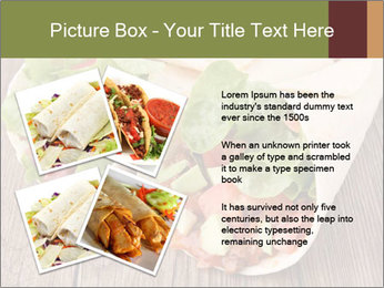Burrito PowerPoint Template - Slide 23