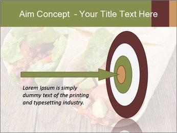 Burrito PowerPoint Template - Slide 83