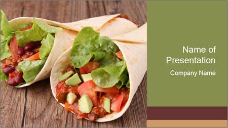 Burrito PowerPoint Template