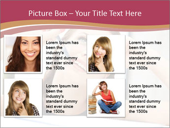 Happy woman PowerPoint Templates - Slide 14
