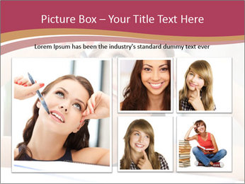 Happy woman PowerPoint Templates - Slide 19