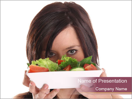 Salad PowerPoint Template